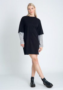 Oversized Two In One Casual Fit Dress