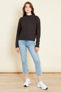 Relaxed Jumper In Rib Knit