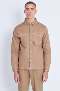 Shirt With Contrast Stich