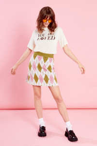 You Are Loved Graphic Tee - Beige