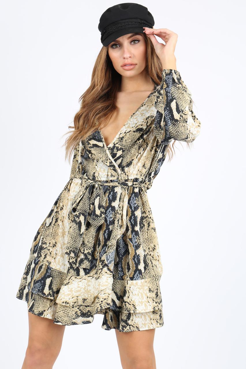 Ruffle Fabric Dress