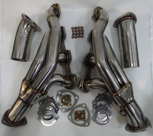 Mercedes Benz Headers Section 1 Mid Pipes C63 AMG 6 2L NA W204 2009+