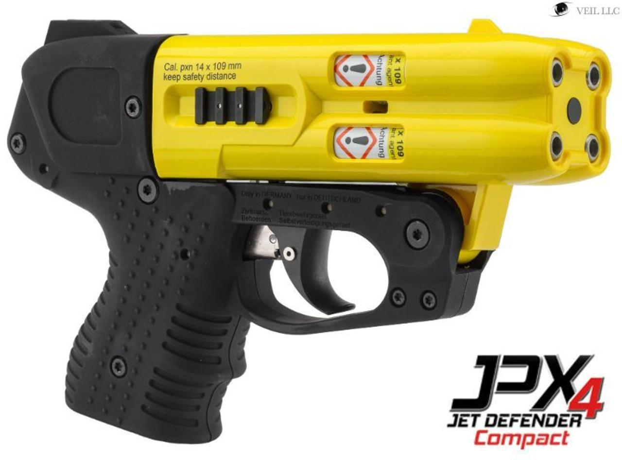 FIRESTORM JPX 4 Shot Defender Compact Pepper Gun Yellow