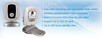 Tuta Q3 Infared Motion Activated Portable DVR Recorder Camera