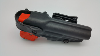 FIRESTORM Black JPX 2 LE with Integral Laser and Level II Paladin Holster