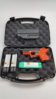 JPX 2 ORANGE BUNDLE WITH PADDLE HOLSTER