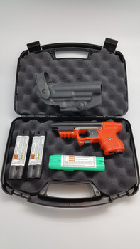JPX ORANGE LASER BUNDLE WITH LEVEL II HOLSTER
