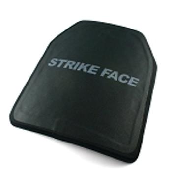 Ceramic Hard Armor Plate Level IV Stand-Alone Single Curve