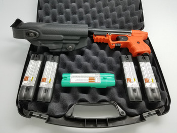 FIRESTORM JPX 2 School Defense Bundle with Orange Frame with Laser with Holster