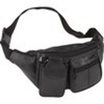Lambskin Leather JPX Fanny Pack with Magazine Pouch