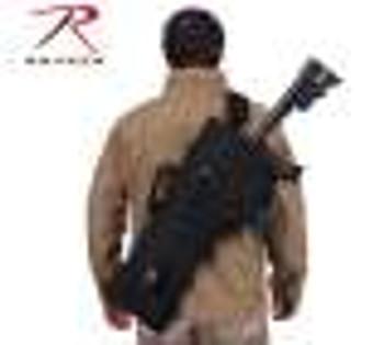 Tactical AR Rifle Scabbard