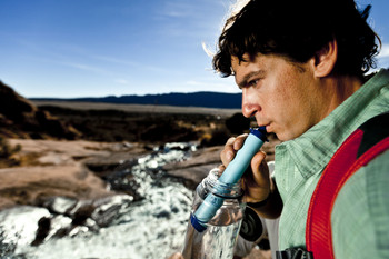 Life Straw Emergency Water Filter