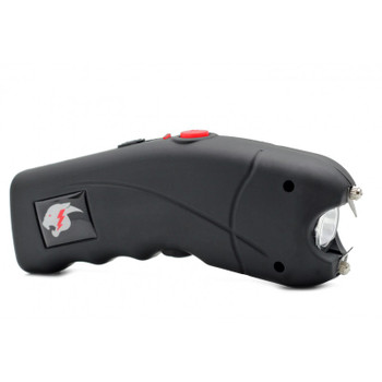 Cyclone Cheetah Stun Gun Black w/ Alarm
