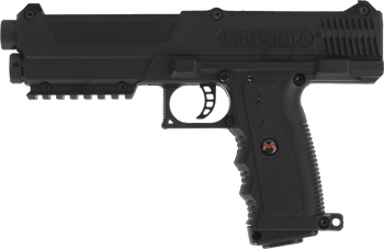 MISSION TPR BLACK PEPPER BALL GUN WITH OC BALLS