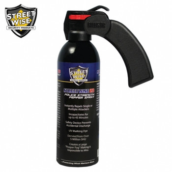 Police Strength Streetwise 23 Pepper Spray 16 oz. Pistol Grip