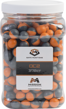 MISSION LEVEL 2 OC2 PEPPER BALLS JAR OF 375