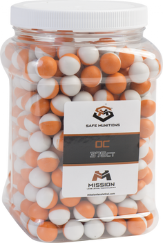 Mission Technologies Level 1 OC .68 Cal Munitions 375 Rounds