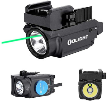 OLIGHT Baldr Mini 600 Lumen Pistol Light and Green Laser