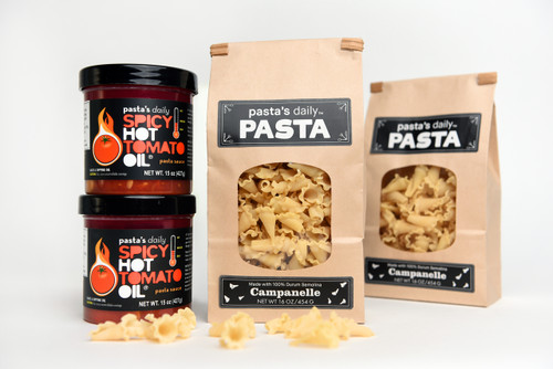 2 Jars & 2 Bags Jumbo Pack (use code PASTA20 for 20% off)