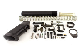Combat Armory mil-spec Lower Receiver Parts Kit & MIl-Spec Pistol tube Kit