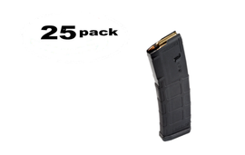 25 Pack MAGPUL PMAG M2 MOE 5.56/.223/300blk 30RD BLK