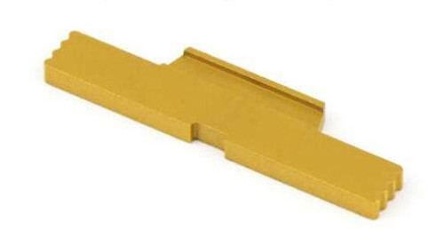 Combat Armory Extended Slide Lock For Glock Gold