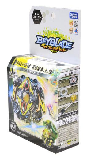 Clearance Takara Tomy Beyblade BURST B-59 Starter Zillion Zeus I.W No Box