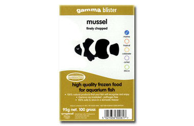 Finely Chopped Mussel (Blister Pack) :: 0729080