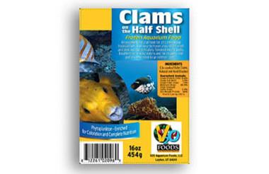 Clams 1/2 Shell 8oz :: 0730200