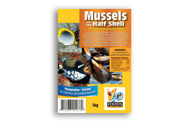 MUSSELS 1/2 Shell 112g (4oz) :: 0730560