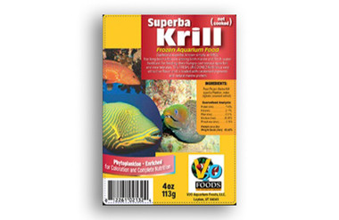 FRESH SUPERBA KRILL IQF 4oz :: 0731810