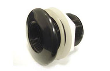 "1"" Black Standard - Thread X Slip :: 0790340"
