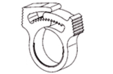 """Plastic Hose Clamp for 1-1/2"""" Tubing, Snapper :: 0913730"""