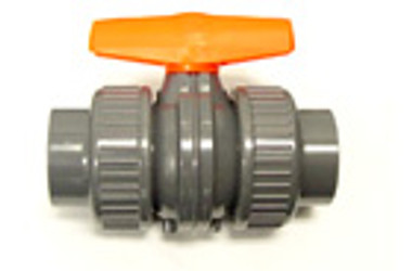"1-1/2"" TxT - True Union PVC Ball Valve :: 0704710"