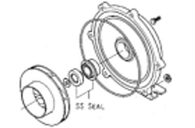 Seal, 750 Series Buna 18.8 Stainless Steel :: 0801150