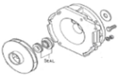 Seal, 1000 Series Buna 18.8 Stainles Steel :: 0801200