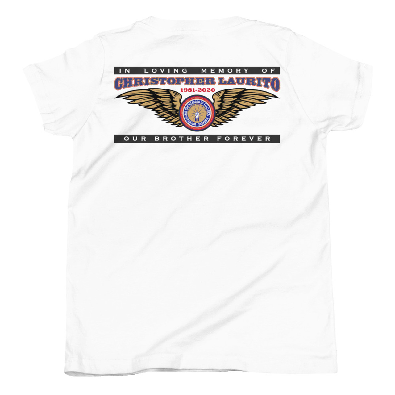 Christopher Laurito Memorial Shirt Youth