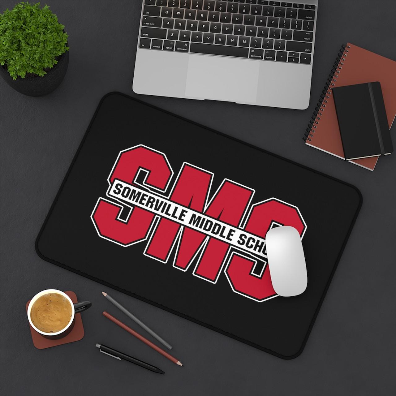 SMS Desk Mat Logo