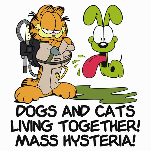 Dogs and Cats Living Together! Mass Hysteria!
