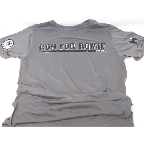 2018 Run for Romie Race Shirt