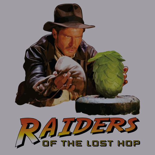 Raider of the Lost Hop - T-Shirt