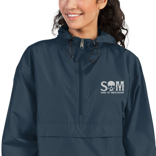 Womens Embroidered Champion Packable Jacket