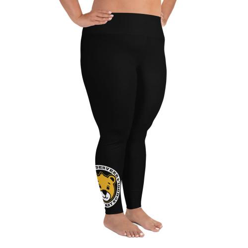 VDV Bear All-Over Print Plus Size Leggings