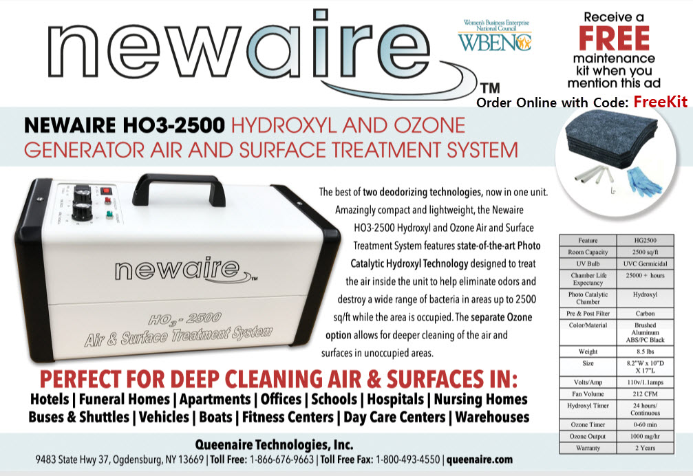 Hydroxyl & Ozone Generator