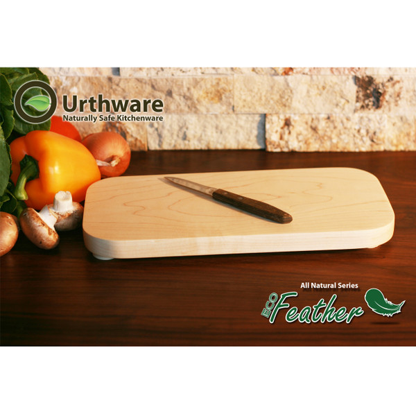 Eco Feather Small All natural cutting board Urthware