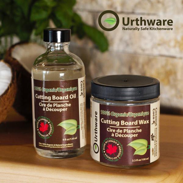 Urthware Organic Oil and Wax finish, Urthware Glue free cutting boards
