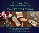 25% Off Everything through 11/18/19