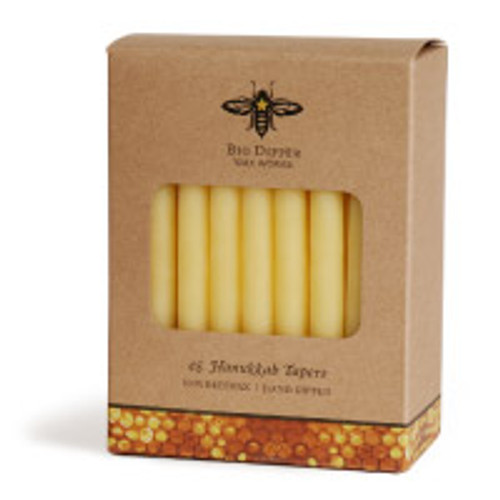Hanukkah Candles - Hand Dipped Beeswax
