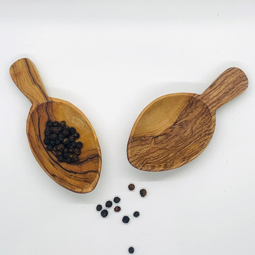 Wood Scoops Set/2