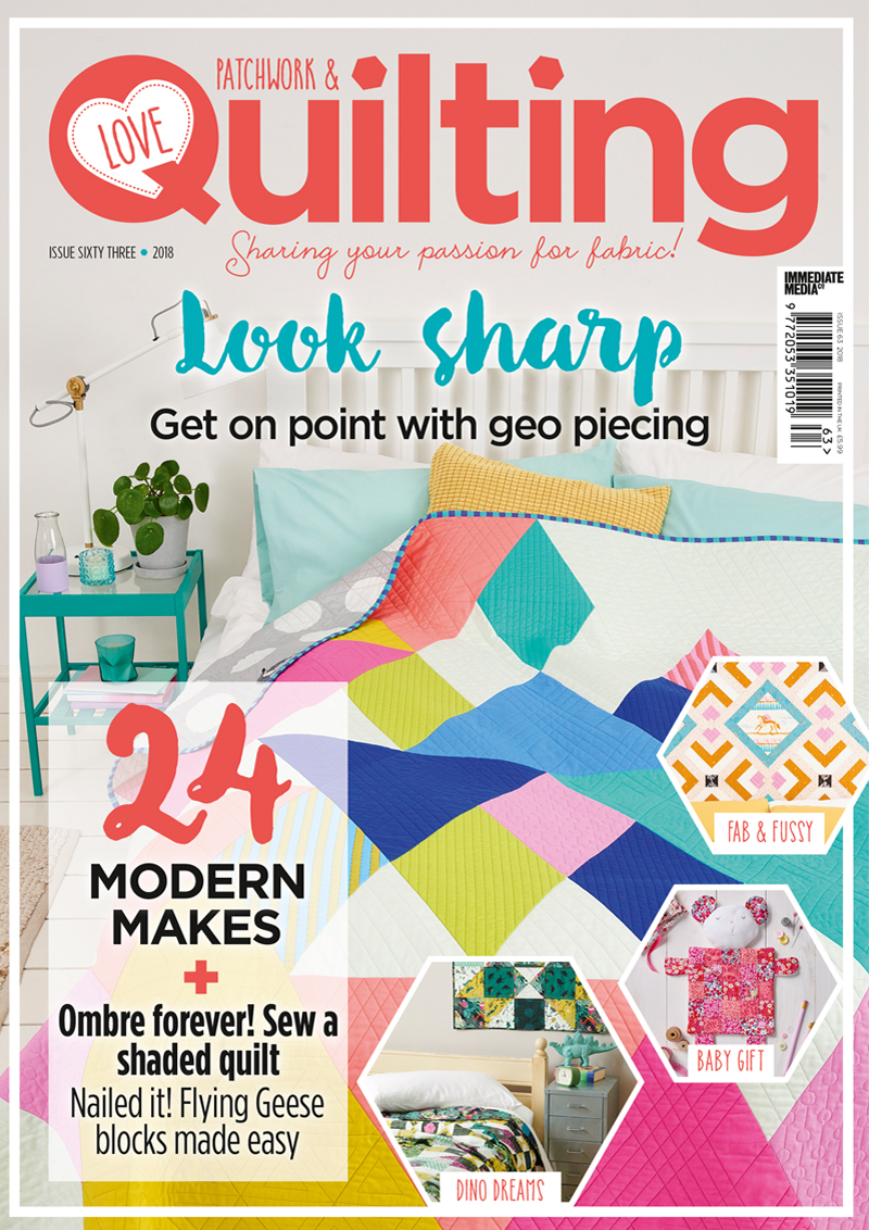 Love Patchwork and Quilting Issue 63